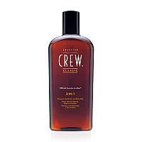 American Crew Classic Средство 3-в-1 по уходу за волосами и телом American Crew Classic 3-in-1 Shampoo, Conditioner&Body Wash-450ml