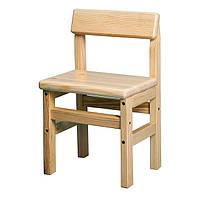 Деревянный детский стульчик (сосна)