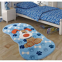 Ковер в детскую комнату Confetti Snopy (голубой) 80х150
