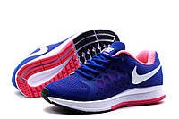 Кроссовки Nike Zoom Pegasus, женские/подросток, cиние, р. 36 37,5 38 39
