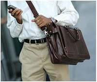 Мужские кожаные портфели: разнообразие выбора