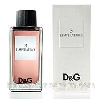 Женская оригинальная туалетная вода Dolce&Gabbana Anthology L'Imperatrice №3, 100ml NNR ORGAP