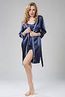 Женский халат Jenny синий