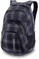 Классный рюкзак на каждый день в клеточку Dakine Campus 33L northwest 610934726008 графит