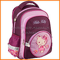 "Школьные портфели для девочек | Рюкзак ""KITE"" Hello Kitty 525, арт. HK16-525S-1301"