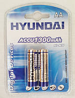 Аккумуляторы HYUNDAI R-6, 2bl, 1300 mAh Ni-MH
