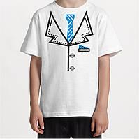 Детская футболка с галстуком.