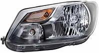 Фара L VW Caddy (2010-2015) TYC 20-12474-052