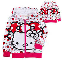Детская одежда для девочек, детская кофта Хелло Китти
