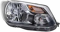 Фара R VW Caddy (2010-2015) Hella 1EL010551021