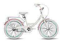 """Детский велосипед PRIDE SANDY бело-розовый глянцевый, 20"""" (BB 16)"""