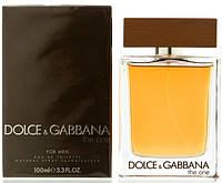 Мужская оригинальная туалетная вода Dolce&Gabbana The One, 100ml NNR ORGAP /44