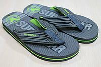 Вьетнамки на мальчика, пляжная обувь тм Super Gear р.38,39,40,41