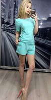 """Стильный молодежный костюм """" Футболка и шорты """" Dress Code"""