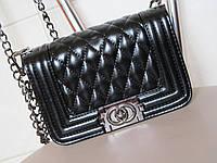 Брендовая сумочка CHANEL черная 3502, фото 1