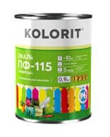 Эмаль ПФ-115 «Универсал» Kolorit (Колорит) 0,9 кг (белая)
