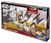 """Трек хот вилс """"Приключение в далекой галактике"""" звездные войны Hot Wheels Star Wars TIE Factory Takedown Track"""