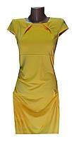 Платье женское желтое