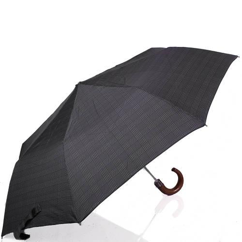 Зонт мужской полуавтомат DOPPLER (ДОППЛЕР) DOP71932-4 Серый Антиветер