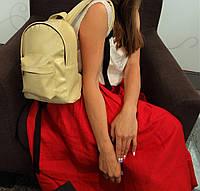 Перламутровый мини-рюкзак из итальянской эко-кожи