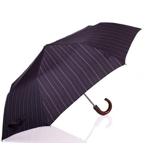 Зонт мужской полуавтомат DOPPLER (ДОППЛЕР) DOP71932-6 Черный Антиветер