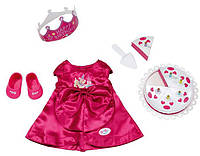 Одежда для куклы на День Рожденья Baby Born Zapf Creation 820681