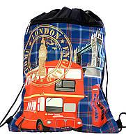 """Сумка для сменки """"Лондон + автобус"""" 78321"""