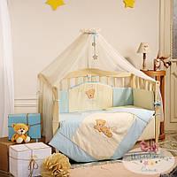 Детский постельный комплект в кроватку Tiny Love, голубой