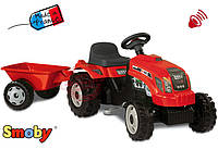 Трактор на педалях GM Bull Smoby 33045