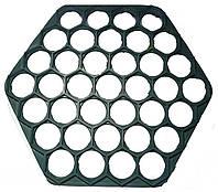 Форма для пельменей пластмассовая шестиугольная