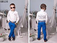 Детские летние брюки для мальчика 98-134