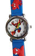 Часы наручные детские мальчик человек паук, фото 1