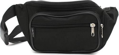 Практичная сумка на пояс из полиэстера Wallaby 2900, черная