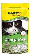 GimCat Denta-Kiss Лакомства в виде поцелуйчиков для предотвращения образования зубного налета и зубного камня