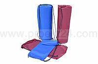 Чехол-рюкзак для коврика (каремата) бордовый 70*60 см