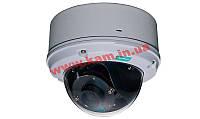 Уличная купольная IP-камера, H.264/ MJPEG, PoE, варифокальный объектив 3...9 мм,  (VPort P26A-1MP-T)