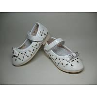 Детские туфли YTOP WL663-1 белые