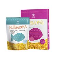 """Подарок для ребенка Комплекс витаминов для детей """"Витамама+Золотая Рыбка""""+Праздничная Упаковка"""