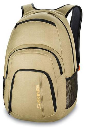 Бежевый городской рюкзак для девушек Dakine CAMPUS 33L taiga 610934866551