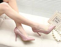 Женские классические туфли на высоком каблуке