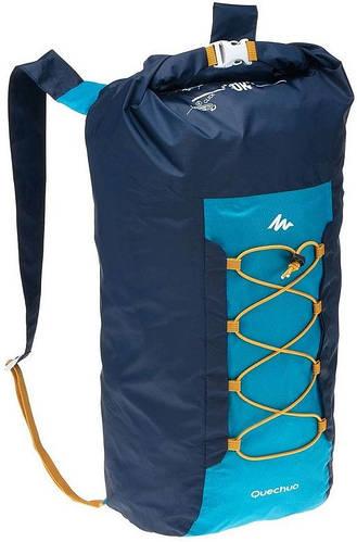 Прекрасный компактный водонепроницаемый рюкзак из полиэстера 20 л. Quechua 2030548 синий.