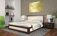 Кровать деревянная двуспальная Рената М с подъемным механизмом