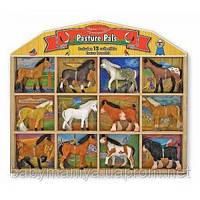 Конюшня - фигурки лошадей Melissa & Doug
