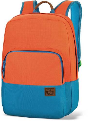 Яркий городской рюкзак для молодежи Dakine CAPITOL 23L loden offshore 610934842333 оранжевый