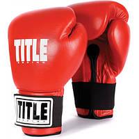 Универсальные боксерские перчатки TITLE Eternal Pro Training