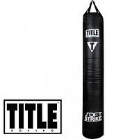 Тайский мешок TITLE Soft Strike Banana Heavy Bag кожзам