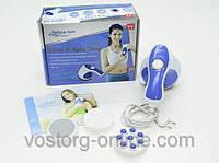 Ручной массажер Relax&Spin Tone, антицеллюлитный массажер для тела, фитнес дома,