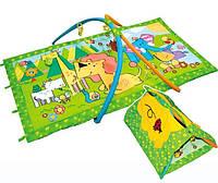 Коврик игровой палатка Королевство зверей Canpol Babies 2/308