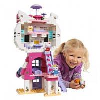 Конструктор Коттедж Кота в коробке 198 деталей Hello Kitty Big 57048
