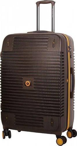 Большой чемодан на 4-х колесах 120 л Vip Collection Bagamas 28 Brown BGS.28.brownn, коричневый